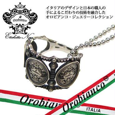 日本製 Orobianco オロビアンコ リング ネックレス 指輪 #17 #19 #21 アクセサリー サイズ選択