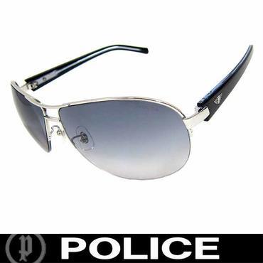 POLICE ポリス サングラス ティアドロップ S8690J 579 チタンフレーム 国内正規代理店商品