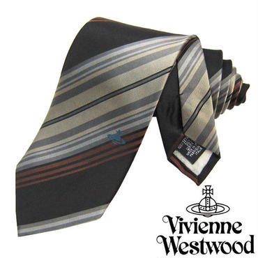 Vivienne Westwood ヴィヴィアンウエストウッド ネクタイ 新柄 (613)