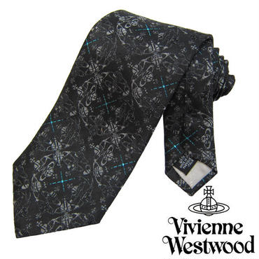 Vivienne Westwood ヴィヴィアンウエストウッド ネクタイ新柄 (627)