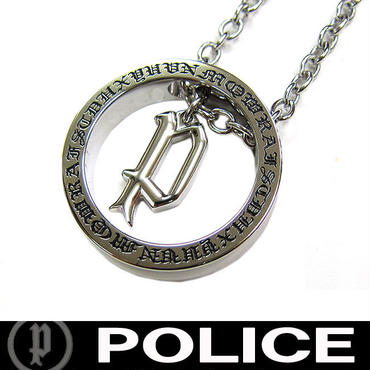 POLICE ポリス ネックレス ペンダント 市原隼人着用モデル アバロン AVALON メンズ (C)