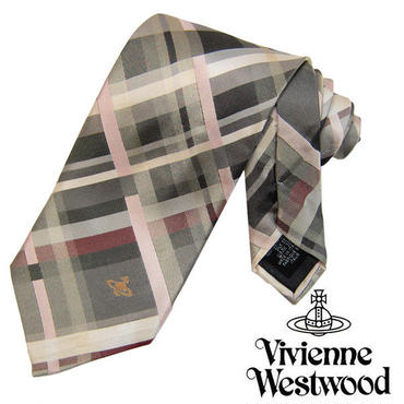 Vivienne Westwood ヴィヴィアンウエストウッド ネクタイ新柄 (652)