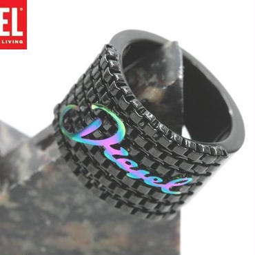 DIESEL ディーゼル ロゴ リング 指輪 DX0346-8