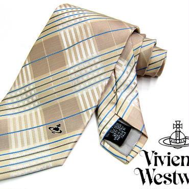 Vivienne Westwood ヴィヴィアンウエストウッド ネクタイ 新柄  (416)