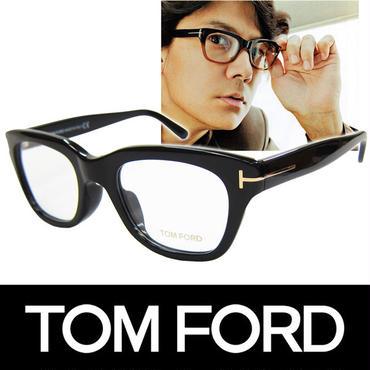 TOM FORD トムフォード だてめがね 眼鏡 伊達メガネ サングラス アジアンフィット FT5178F 001 51 福山雅治着用  (48)