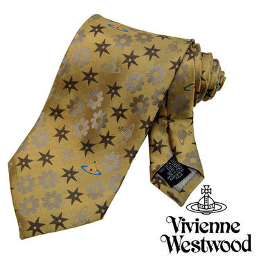 Vivienne Westwood ヴィヴィアンウエストウッド ネクタイ新柄 (623)