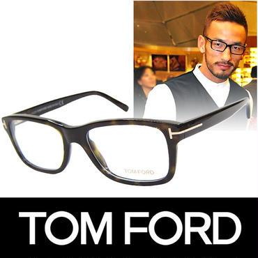 TOM FORD トムフォード だてめがね 眼鏡 伊達メガネ サングラス FT5163 052 53 中田英寿着用 (61)