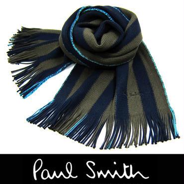 Paul Smith ポールスミス マフラー フリンジ マルチストライプ (44)