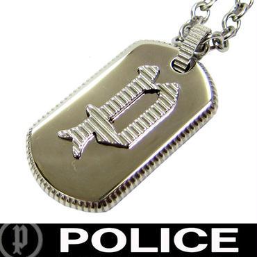 POLICE ポリス ネックレス ペンダント プレート ドッグタグ SENTIN (13)
