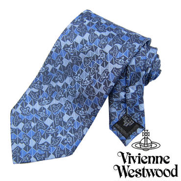 Vivienne Westwood ヴィヴィアンウエストウッド ネクタイ新柄 (607)