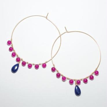 loop pink-blue