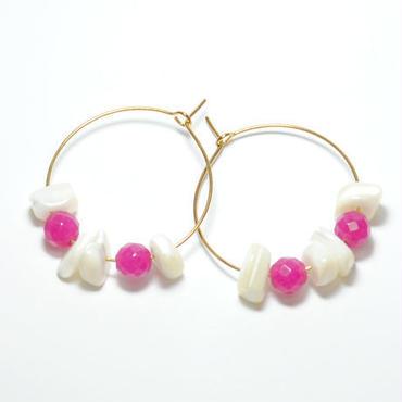 loop shell&pink