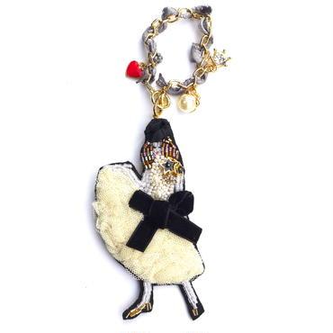 パリジェンヌパーティー  paris lady party | ビーズチャーム&ブローチ hand made beads charm&brooch