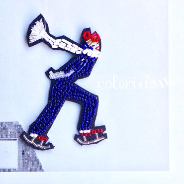 Let's Skate!(レッツ・スケート!) | ビーズブローチ hand made beads brooch