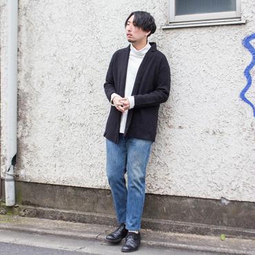 カシミア混ニットジャケット
