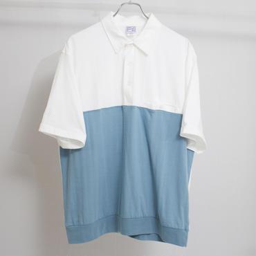 ツートーンポロシャツ