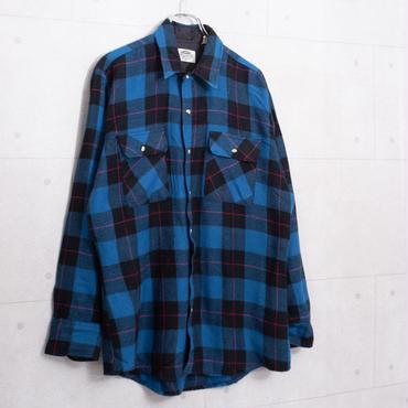 チェックネルシャツ