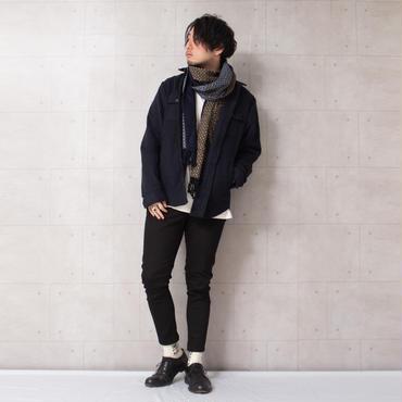 縮絨ウールシャツジャケット