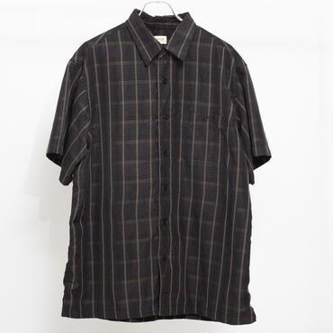 ダークトーンチェックシャツ