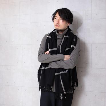 【KAZUYUKI KUMAGAI】クールマックスモクロディスエードタートルネック
