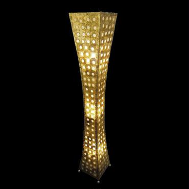 シェルフロアタワーランプ 150cm Moon Gold