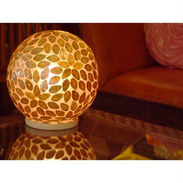 シェルボールランプ Ф30cm 《 Squibe Gold スクイブ ゴールド 》( テーブル / シーリング )