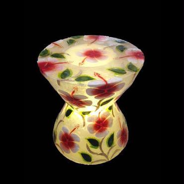 シェルスツール/テーブルランプ  Oriental Flower
