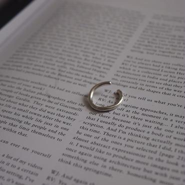【受注販売】silver nuance ring