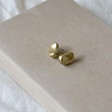 【受注販売4月下旬発送】mini  motif  pierce/earring soramame