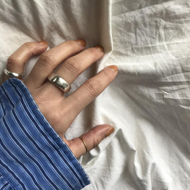 new【受注販売4月下旬発送】silver925  normal ring S.M