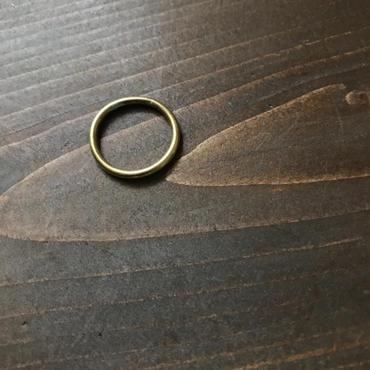 【受注販売】thin circle ring