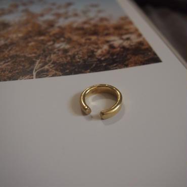 【受注販売】wide gap ring