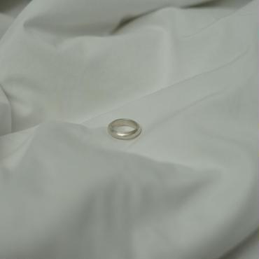 【受注販売】silver wide simple ring