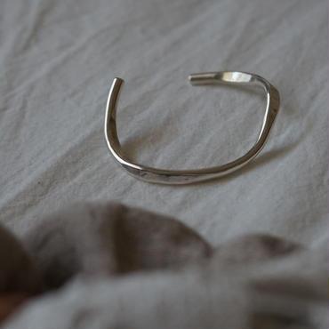 【受注販売】silver925 thick bangle
