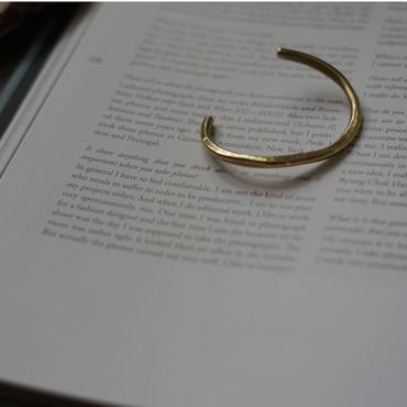 【受注販売】brass thick bangle