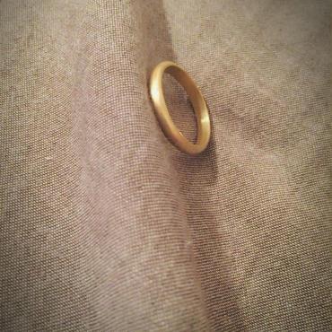 【受注販売】simple ring