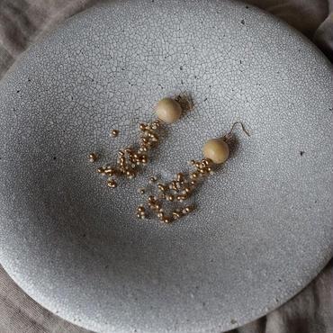 wood beads earaccessory