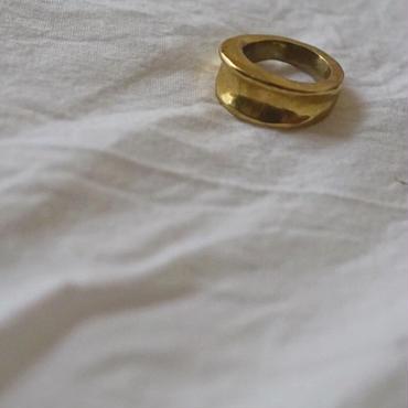 【受注販売4月下旬発送】P antique ring M