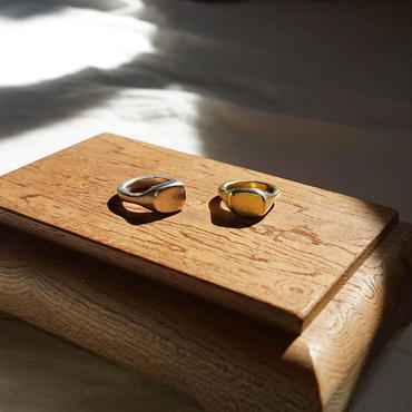 new【受注販売4月下旬発送】silver925 square stone ring