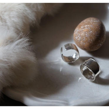 voll.【受注販売】wide rock ring