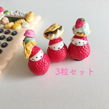 苺ぼうやマスコット/ラブリースイーツセット
