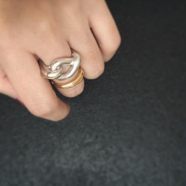 【Atlica】silver×k18 ring