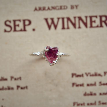 GemStone Ring -Pink Tourmaline-♥10mm