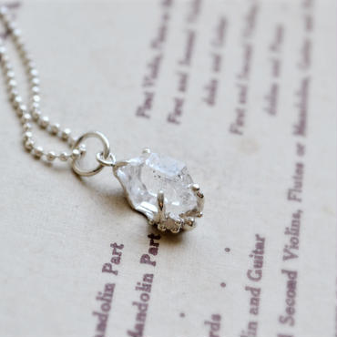 Herkimer Diamond  Necklace -17-