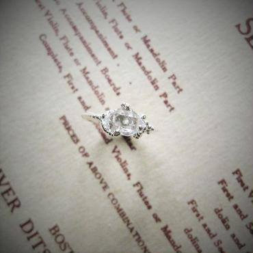 Herkimer diamond Ring -ハーキマーダイアモンドリング-