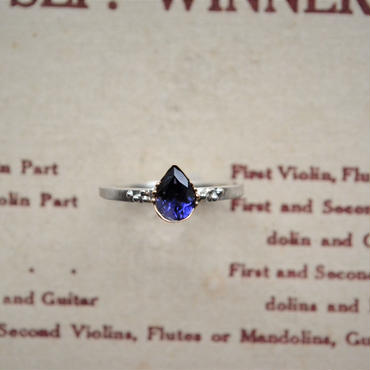 Only One! Tear Jewels /Iolite Ring -導きの涙-