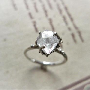 New!Herkimer diamond Ring -ハーキマーダイアモンドリング-