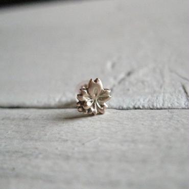 MizuSakura-水桜- 一粒Pierced※受注後の制作