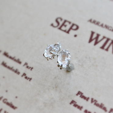 Herkimer Diamond  Pierced -88-