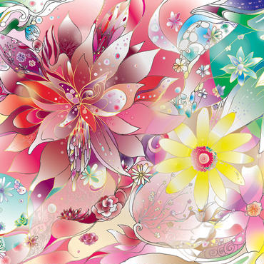 Download illustration -My flowers-